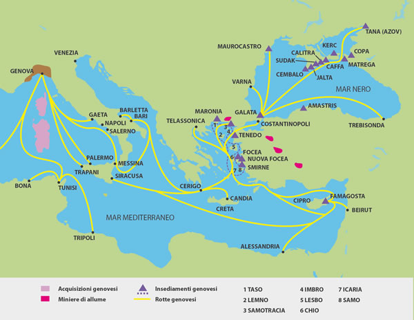 genoese trade route