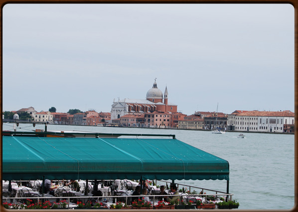 La Giudecca seen from the Zattere.