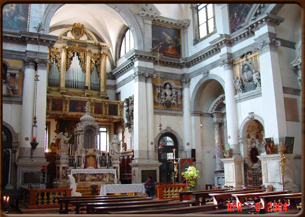 Venecia y sus lagunas :: Santa María del Giglio