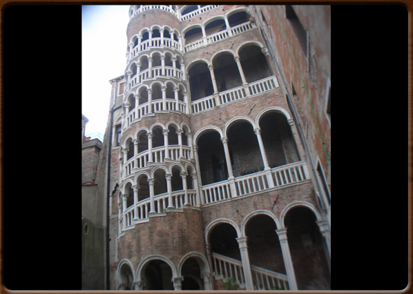 The Palace with the 'Bovolo' Tower.