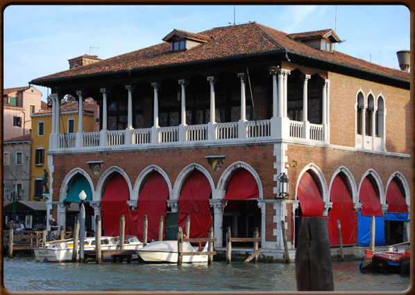 The Pescaria Fish Market On Grand Canal