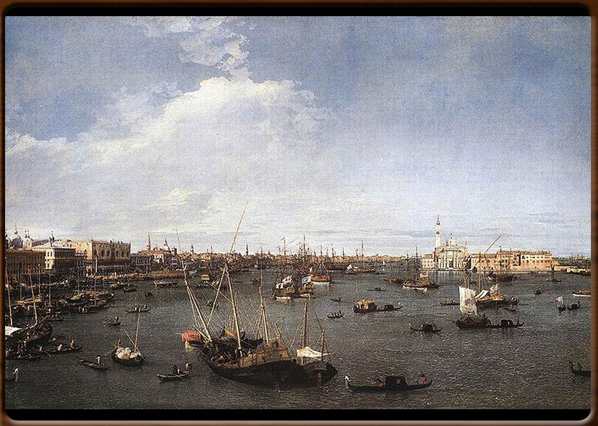 St. Mark's Bassin. Canaletto, 1738-40, Museum of Art, Boston.