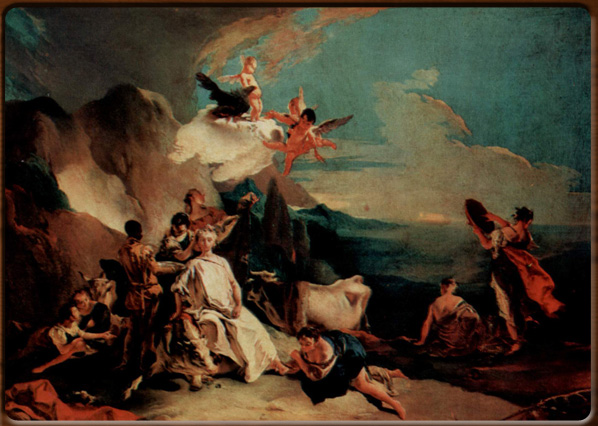 The rape of Europe, Giambattista Tiepolo, 1720-22, Venezia, Gallerie dell'Accademia.