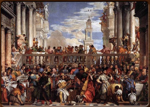 The wedding at Cana. Paolo Veronese, 1562, MUsée du Louvre, Paris.