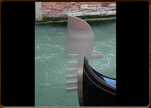 Ferro Da Gondola.Venice And Its Lagoons The Gondola