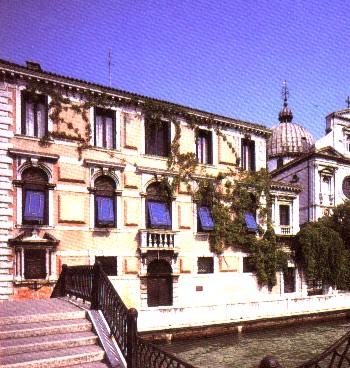 Flanghinis Palace, current seat of the Hellenic Institute of Byzantine and Post Byzantine Studies