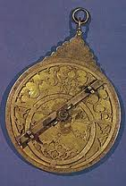 Islamic astrolabe.