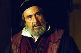 Al Pacino in a scene of  Merchant of Venice.