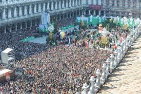 St. Mark's square, one million persons.