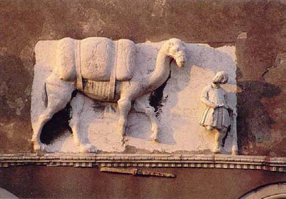 Bas relief of Mastelli Palace.