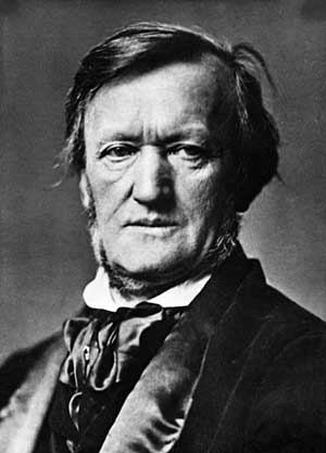 Photographie de Richard Wagner.